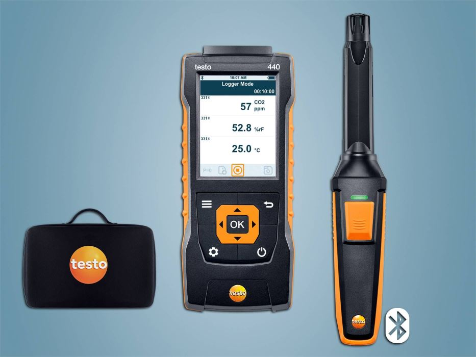 Kit testo 440 đo CO2 (Bluetooth)